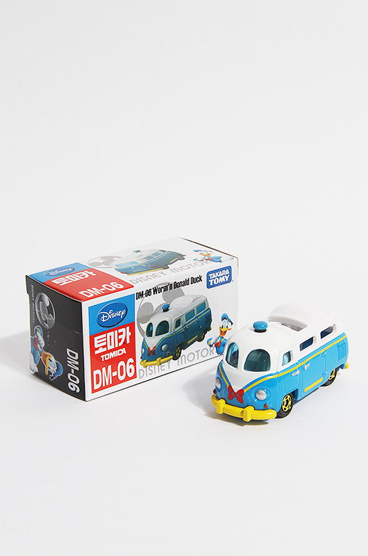 TOMICA Worm'n Donald Duck Dm-6