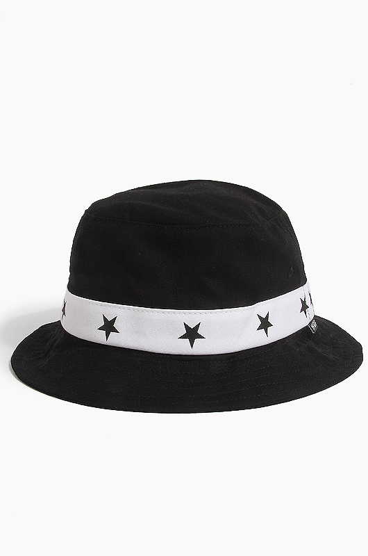 HUF5 Star Bucket Black