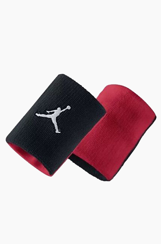 NIKE Jordan Wristband Black/Red