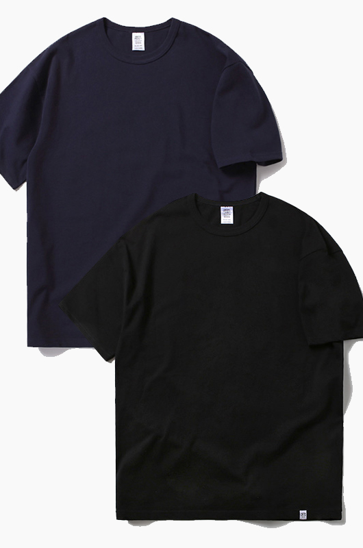 CRITIC 2 Pack Tee Black/Navy