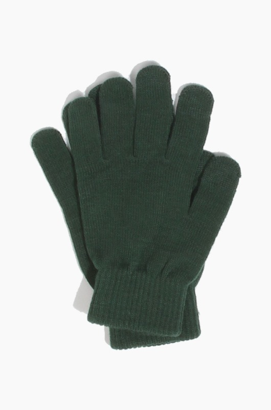 Plain  Spectator Touch Glove Forest Green