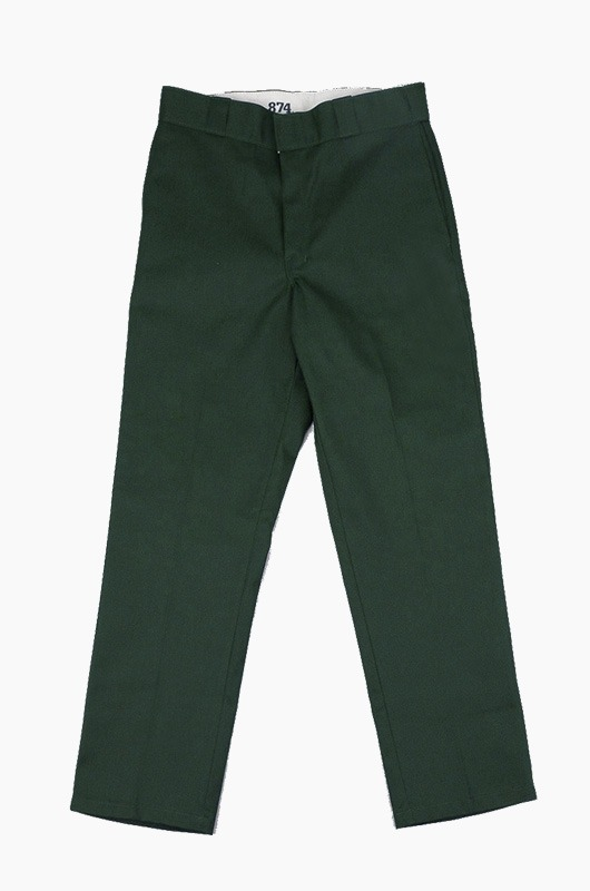 DICKIES 874 Original Fit Pants Green