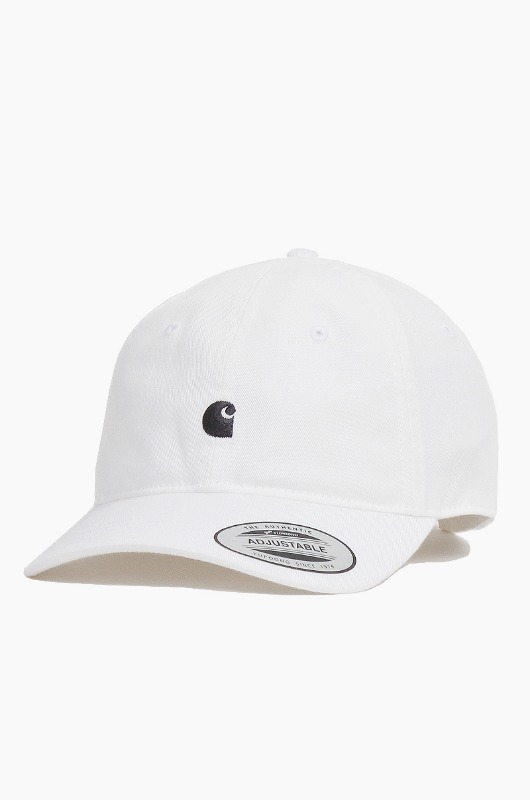 CARHARTT-WIP Madison Logo Cap White/Navy