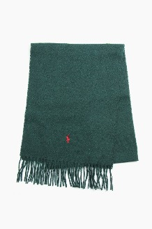 POLO Recycled Wool Scarf Green